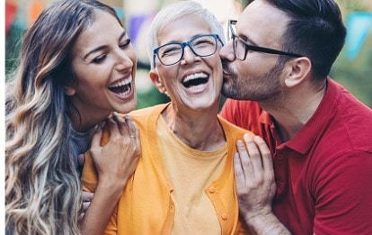 happy motherinlaw with young family picture id1187451170 Independent Pension and Financial Advice